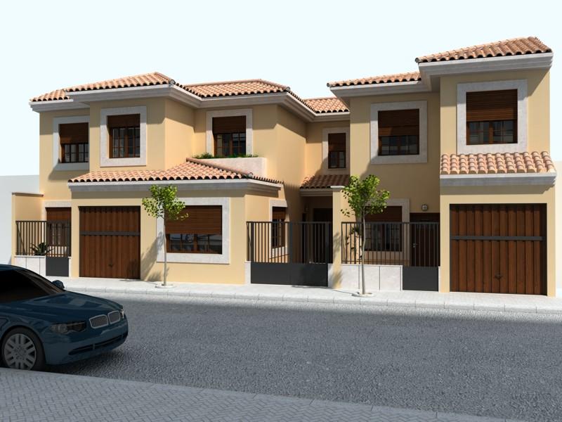 Umgestion inmobiliria y promotora for Fachadas de viviendas