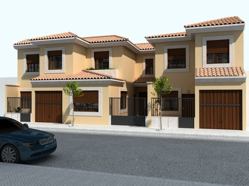 Fachadas de viviendas ms de ideas increbles sobre for Casas modernas unifamiliares